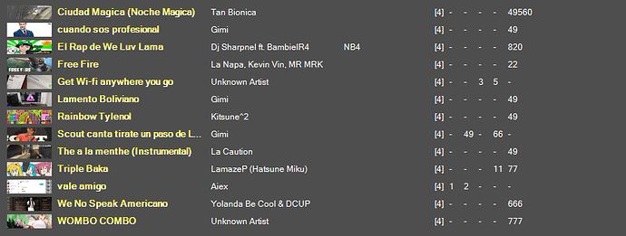 song-list