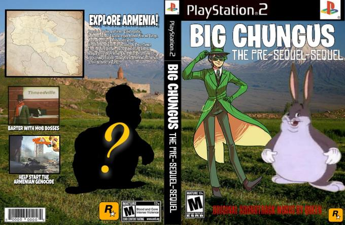PlayStation.2 EXPLORE ARMENIA3 man aadaar creserAomenian Chinkto &.hoe frap ionmey acrs the bordcr in Curfo THE PRE-SEQUEL SEDUEL ru Thneeddville BARTER WITH MOB BOSSES HELP START THE ARMENIAN GENOCIDE MATURE 17 MATURE Blood and Gore Intense Violence ORIGINAL SOUNDTRACK MUSIG BY QUEEN 00 ·0000 vertebrate horse like mammal technology